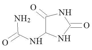 Allantoin, allantoine, analysis of, Kapillarelektrophorese, CE, capillary electrophoresis